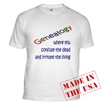 Genealogy Confusion Apparel