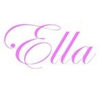 Ella Pink Script