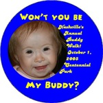 Personalized Buddy Walk Pins and other personalize