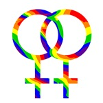 Rainbow 2 Women Symbol