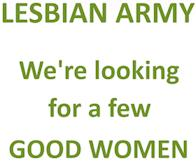 Lesbian Army - A Few Good Women