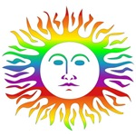 Rainbow Sun T-Shirts & Gifts