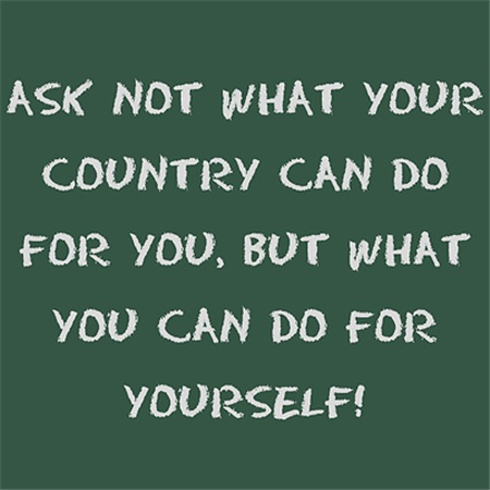 Ask not what your country