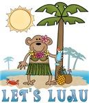 Lets Luau Girl Monkey