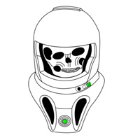Zombie spaceman