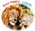Eat Prey. Love.