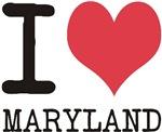 I Love MARYLAND!