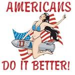AMERICANS DO IT BETTER!