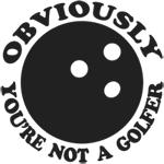 Obvious Golfer Lebowski T-Shirts