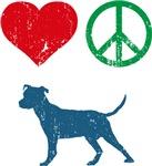 Love Peace Dog