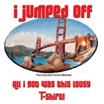 Golden Gate Bridge Suicide SouvenirT-shirts & Gifts