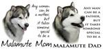 Malamute Mom/Dad