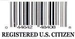 REGISTERED U.S. CITIZEN