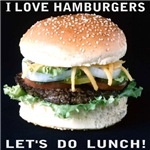 I LOVE HAMBURGERS