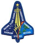 STS 107 COLUMBIA