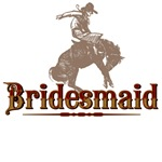 Bridesmaid Western T-Shirts