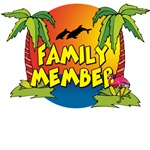 Family Member Beach T-Shirts
