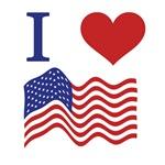 I Love the USA T-Shirts