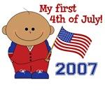 My 1st 4th of July T-Shirts (Boy)
