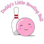 Daddy's Little Bowling Ball T-Shirts