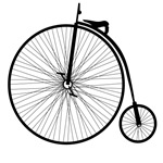 Penny Farthing Bike T-Shirts and Gifts