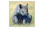 Seated Baby Rhino T-Shirts and Gifts