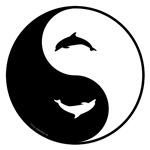 Yin Yang Dolphins
