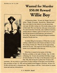 Wanted Willie Boy