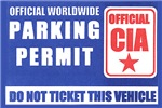 CIA Parking Permit