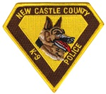 New Castle County  Police K9