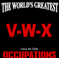 The World's Greatest Occupations V-W-X