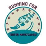 Running for...