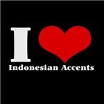 i love heart accents
