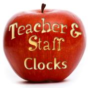 Teacher & Staff Appreciation Clocks