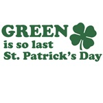 Green is so last St. Patrick's Day