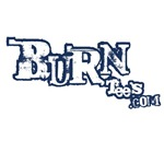BurnTees Softball Logo