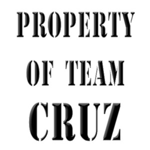 Property of team Cruz
