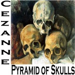 Cezanne: Pyramid of Skulls