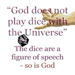 Einstein (God/dice)