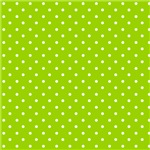 Lime Green Polka Dots