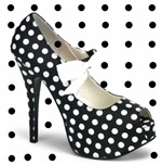 Black Dot Shoes
