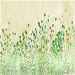 Delicate Vintage Art, Wildflowers