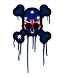 Australia Punk Skull