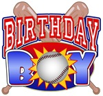 Baseball Birthday Boy