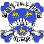 Archdale Family Crest Skull