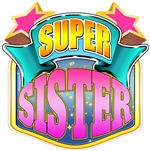 Super Sister - Pink Superhero