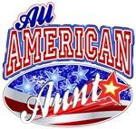 All American Patriotic Aunt