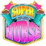 Pink Super Nurse Superhero