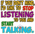Stop Talking Sheldon Quote