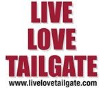 Live Love Tailgate Garnet